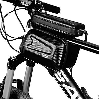 Bolso Bicicleta, Bolso del Marco de la Bici Bolso Impermeable del ...