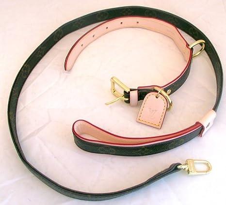 Amazon.com  Louis Vuitton Dog Collar and Leash Set Medium