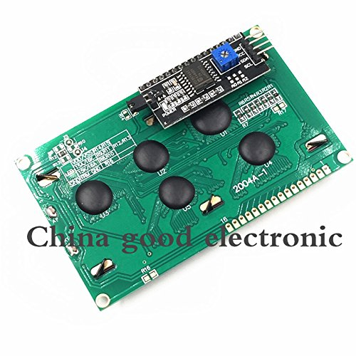 Davitu 1PCS LCD2004+I2C 2004 20x4 2004A blue screen HD44780 for arduino Character LCD/w IIC/I2C Serial Interface Adapter Module (Graphic Lcd Modules)