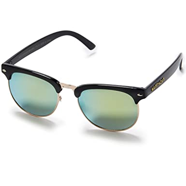 83bf4cb5799 Happy Hour G2 Bryan Herman Sunglasses - Black Gold Mirror at Amazon Men s  Clothing store