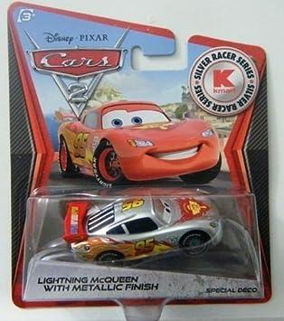 Mattel Disney Pixar McQUEEN METALLIC FINISH Kmart CARS 2