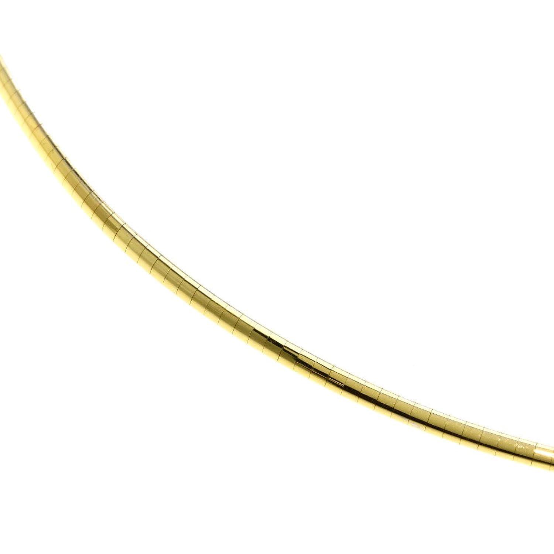 [セレクトジュエリー]オメガ 2カラー ネックレス K18ホワイトゴールド/K18YG レディース (中古) B07D3JNXKD