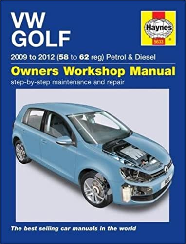 VW Golf Petrol & Diesel (09 - 12) 58 To 62: Amazon.es: Peter T. Gill: Libros en idiomas extranjeros