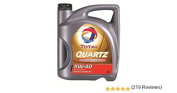 Total 3425901019277 Aceite para Motor Quartz 9000 Energy 5W40 5 ...