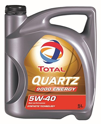 54 opinioni per Total- Lubrificante Quartz 9000 Energy 5W-40 per motori benzina e diesel,