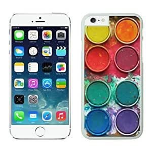 Watercolor Sets Witeh Brushes Iphone 6 Cases White