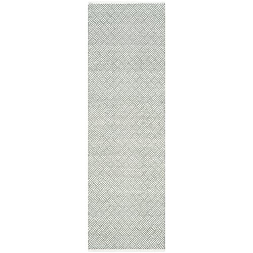 Safavieh Boston Collection BOS680E Handmade Grey Cotton Runner (2'3