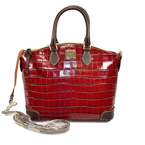 dooney-bourke-croco-satchel