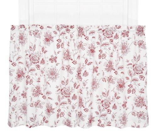 Ellis Curtain Winston Monochromatic Floral Print Tailored Ti
