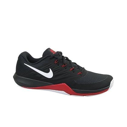 newest e3382 7de57 Nike Men s Lunar Prime Iron II Sneaker, Black White-Anthracite-Gym red,  12.5 Regular US