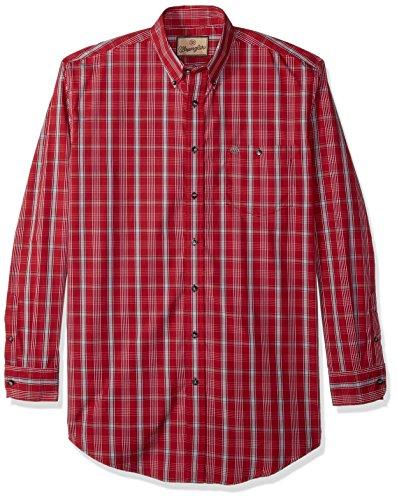Wrangler Classic Long Sleeve Shirt (White) - 5
