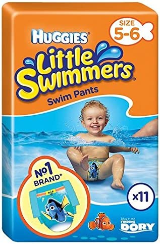 Huggies Little Swimmers Size 5-6 Medium 11 per pack Pack of 2