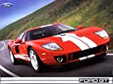 A MUST FOR OWNERS & ENTHUSIASTS 2005 FORD GT SUPER CAR FACTORY TECHNICAL SPECIFICASTIONS BROCHURE - INCLUDES Engine, Steering, Brakes, Drivetrain, Suspension, Wheels & Tires, Dimensions & Capacities
