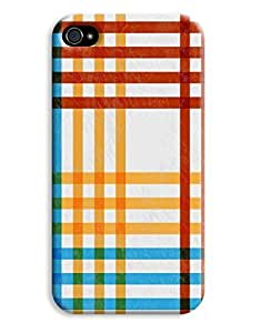 Chequered Crosshatch Case for your iPhone 4/4s