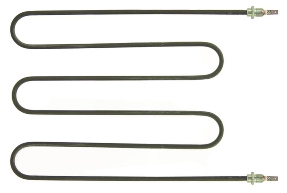 Sirman Heizk/örper f/ür Pizzaofen 700W 230V L/änge 316mm Breite 235mm Anschluss Flachstecker 6,3mm Anschlussl/änge 34mm M12x1,5