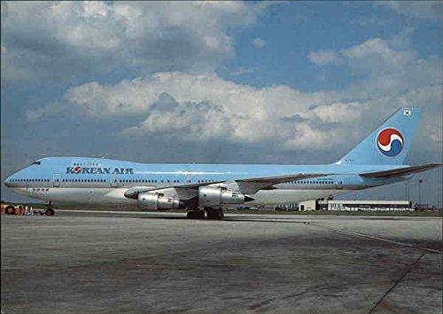 korean-air-aircraft-original-vintage-postcard