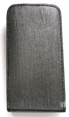 Emartbuy® Apple Iphone 3G / 3Gs Shimmer Finition De Cas De Secousse / Couverture / Pochette Gris Noir