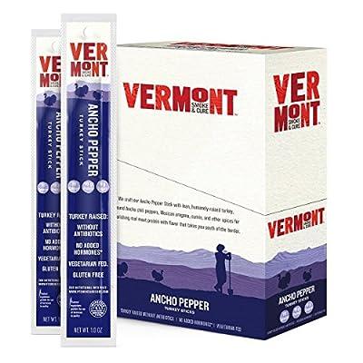 Vermont Smoke & Cure Meat Sticks, Beef & Pork, Antibiotic Free, Gluten Free