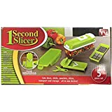 One Second Slicer - All in One Vegetable Slicer and Food Preparation Station