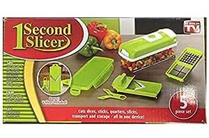 One Second Slicer - All in One Vegetable Slicer and Food Preparation Station