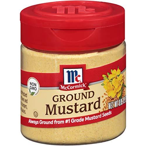 McCormick Ground Mustard, 0.85 oz