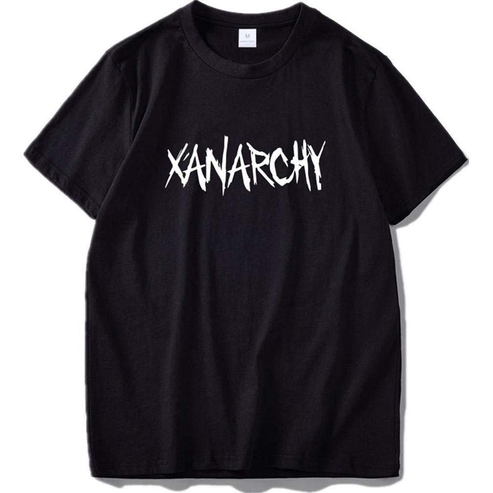 Camicia Xanarchy 3 S Printing S Funny Short Sleeves Shirts