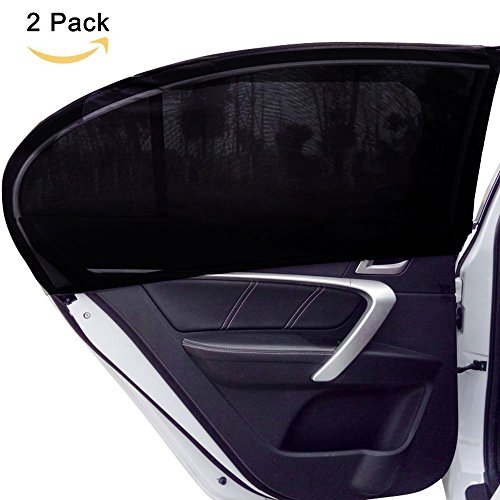 dogoo-universal-fit-car-side-window-sun-shadeblocking-over-98-of-harmful-uv-rays-2-pack