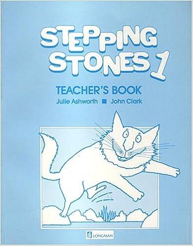 Book Stepping Stones: Teachers' Book No. 1