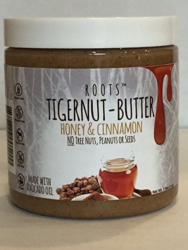 Tigernut Butter - Honey & Cinnamon Flavor Allergen Friendly Nut Butter : No Nuts, Seeds or Soy / AIP compliant (Seed Tiger)