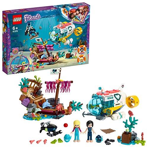 레고(LEGO) 프렌즈 돌고래의 구출 서브 마린 41378 블럭 장난감 소녀