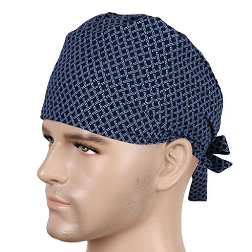 Nothar Classic Surgical Scrub Hat, Cap, Many Fabric Choices (Men Surgical Caps compare prices)