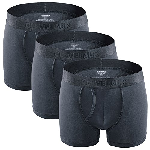 Men's Underwear 3 Pack Short Leg Lightweight Fast Drying 4