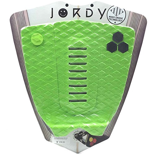 Channel Islands Jordy Arch Flo Traction Pad - Green