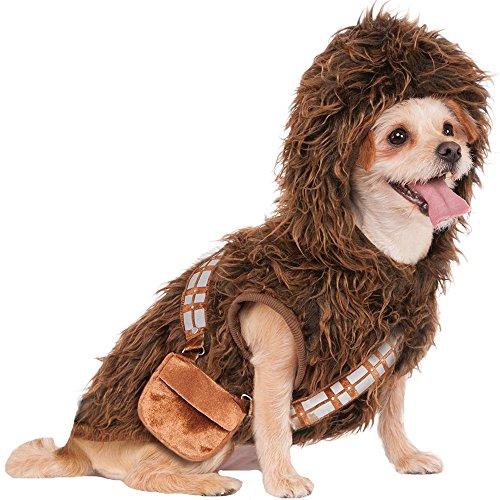 Best Chewbacca Costume (Rubies Costume Star Wars Chewbacca Hoodie Pet Costume, Small)