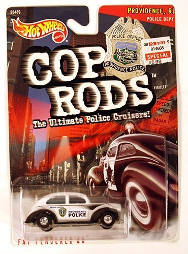 Hot Wheels 1999 Cop Rods: Providence RI Fat Fendered '40 by Hot Wheels