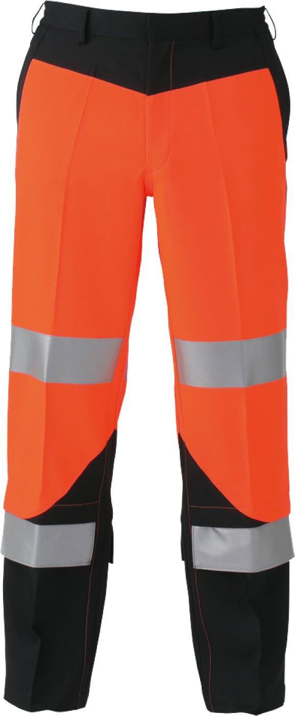 コーコス(CO-COS) 高視認性安全作業ズボン セーフティ ワークパンツ cc-cs2413 B01MEFTTU3 L|オレンジ