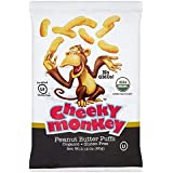 Cheeky Monkey Peanut Butter Puffs 60g