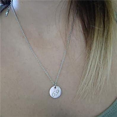 collier femme avec cristal