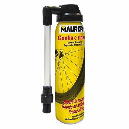 Spray Repardor Inflador Rueda Bicicleta 100 ml.: Amazon.es ...