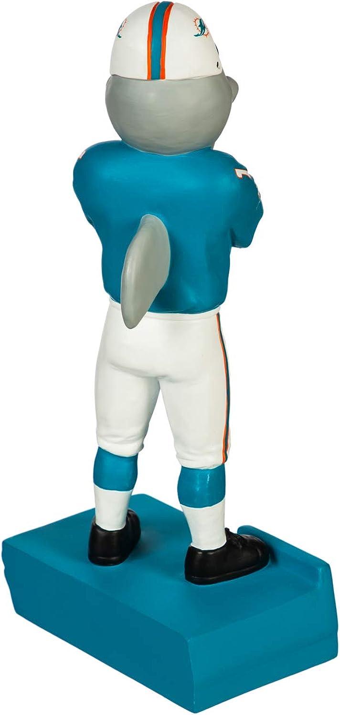 Team Sports America NFL Miami Dolphins Fun Colorful Mascot Statue 12 Inches Tall