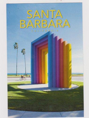 SBPC923-09f CHROMATIC GATE, SANTA BARBARA ... rainbow - POSTCARD .. from Hibiscus Express (Best Beaches Near Santa Barbara)