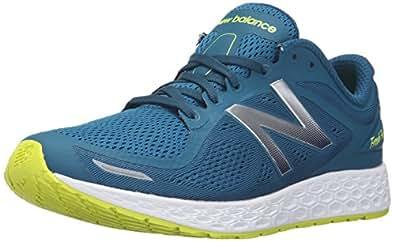 New Balance Men's Fresh Foam Zante v2 Running Shoe, Teal/White, 9.5 D US