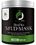 Cleansing Diet Products - Dead Sea Mud Mask - Natural Face Mask and Body Cleanser - Best Facial Treatment Pore Reducer & Minimizer Acne Blackheads & Oily Skin with Minerals 8.8 oz