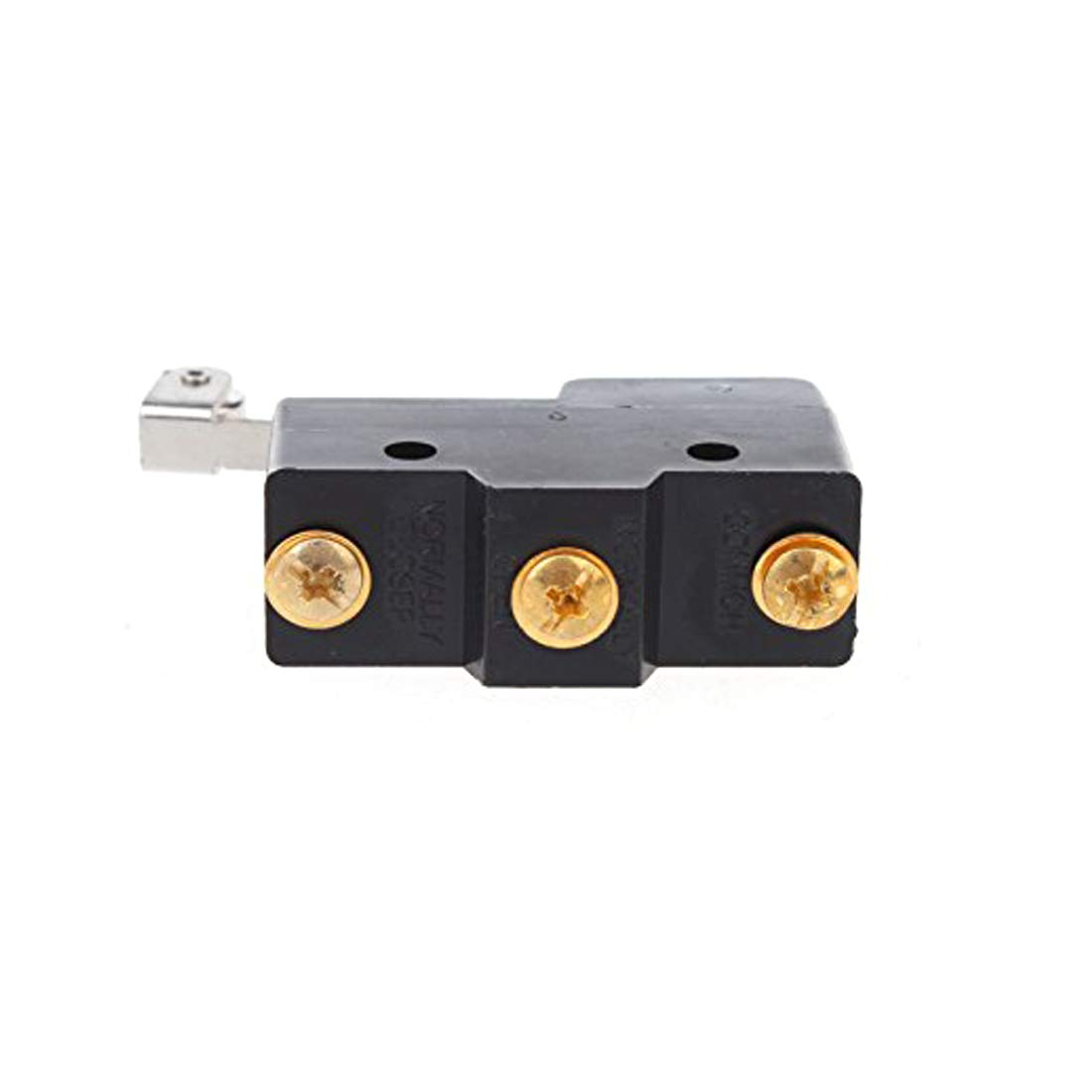 ZXHAO 2pcs 380VAC 220VDC Ith10A SPDT Long Hinge Roller Lever Limit Micro Switch