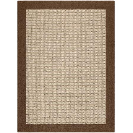 Faux Sisal Rug - Mainstays Faux Sisal Tufted High Low Loop Area Rug or Runner, 5' x 7', Brown