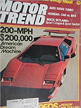 1980 Honda Civic 1500GL / 1980 Honda Goldwing Gold Wing GL-1100 Interstate Motorcycle / Buick Skylark Road Test Paperback – 1980