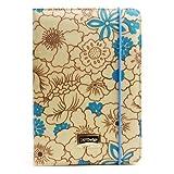 Best JAVOedge iPad Mini Cases - JAVOedge Blue Poppy Print Book Style Case Review