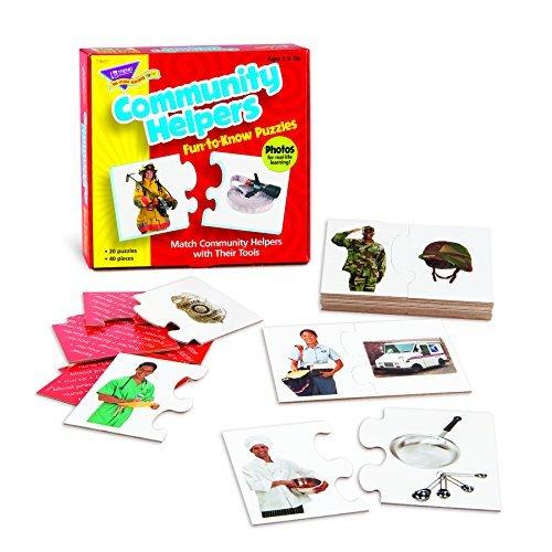 Trend Enterprises Community Helpers Fun-to-Know Puzzle by Trend Enterprises Inc