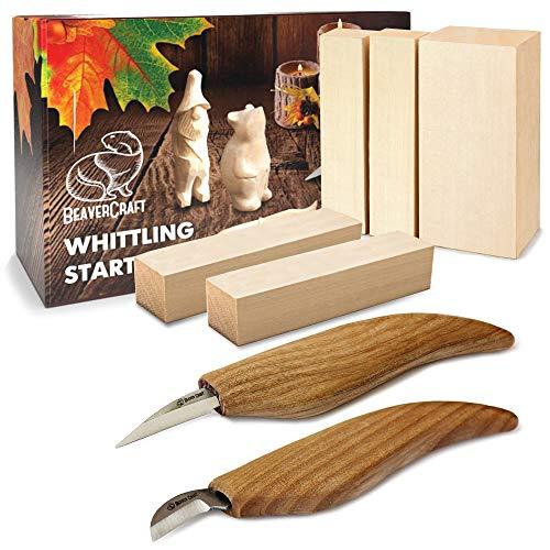 BeaverCraft Wood Carving Kit