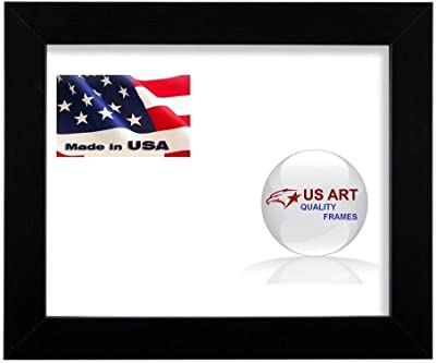US Art 24x30 Custom Black 1.125 inch Picture Poster Photo Frame Solid Wood #CTM1125